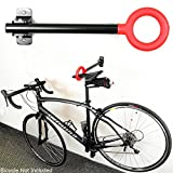 New Single Bike Bicycle Wall Mount Folding Rack Seat Hanger Storage Stand Hook !