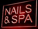 Nails & Spa Led Light Sign