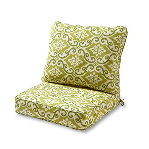 Greendale Home Fashions Deep Seat Cushion Set, Shoreham (Cushion Outdoor Deep Seat)