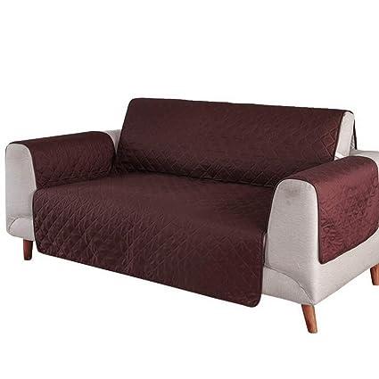 urijk Funda para sofá sillón- Protección para Sillón Resistente al Agua Antideslizante - Cubierta de sofá para Mascotas Top sofá Protectora, café, ...