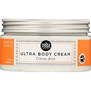 Whole Foods Market, Ultra Body Cream Citrus Zest, 7 fl oz