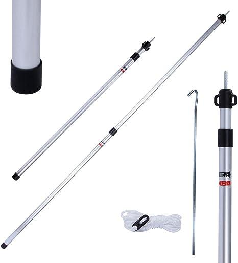 10T TT Pole 160 Alu Stange Teleskopstange 90 160 cm