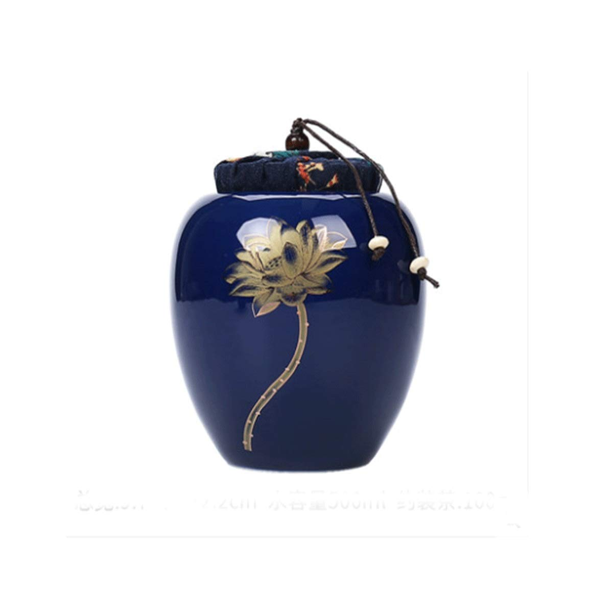 Shengshihuizhong Pet Casket, Pet Urn, Cremation Urns for Pets, Functional Urn, Ceramic Sealed, Moisture Proof, Keepsake Box for Dogs and Cats, urns, Available in a Variety of Styles The