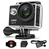 Sports Action Camera, Webat WB600S 4K Wifi Sports Action Camera HD Waterproof DV Camcorder 12MP 170 Degree Wide Angle with Fashionable strip case and backup battery