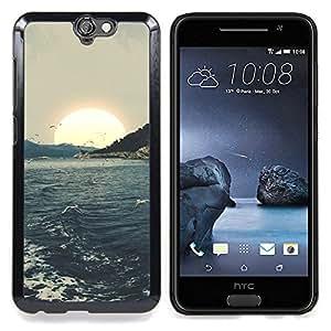 """Planetar ( Estrellas del cielo la constelación de Mar"""" ) HTC One A9 Fundas Cover Cubre Hard Case Cover"""
