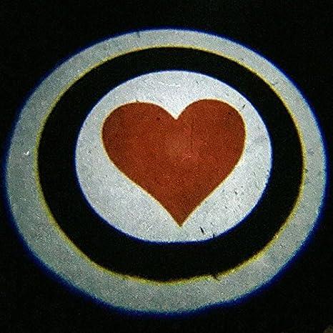 confezione da 2 con logo luce di cortesia per portiera con proiettore laser