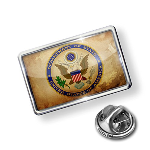 Pin Department of State United States - Lapel Badge - NEONBLOND