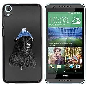 Estuche Cubierta Shell Smartphone estuche protector duro para el teléfono móvil Caso HTC Desire 820 / CECELL Phone case / / Hipster Bear /
