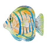 Melamine 10 Tropical Fish Plate Designed by Cynthia Coulter