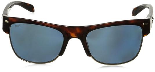 4d6852fb28f Amazon.com  Costa Del Mar Pawleys Polarized Oval Sunglasses Retro Tortoise  56.2 mm  Clothing