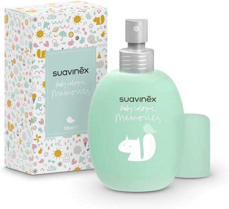 Suavinex 306786 Colonia para niños, perfume Baby Cologne Memories – Edición limitada 100 ml