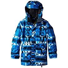 Volcom Boy's Woodland Insulated Technical Jacket - Bright Blue, Large by Volcom