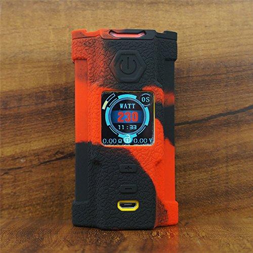 ModShield for SNOWWOLF Vfeng 230W TC Silicone Case ByJojo Cover Shield Skin Wrap (Red/Black)