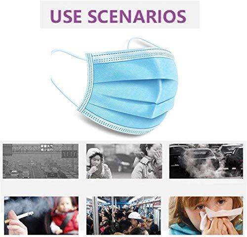 20PCS Dust Masks, Unisex Anti Pollen Allergens Mouth Muffle Reusable Cotton Gauze Mask
