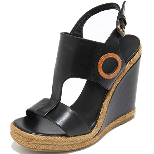 Castaner 8501i Zeppa Sandalo Nero Black Women Donna Shoes Sandals PdqBd