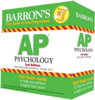 com barron s ap psychology th edition  barron s ap psychology flash cards 2nd edition
