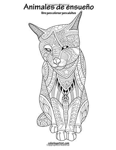 Amazon.com: Animales de ensueño libro para colorear para adultos 1 ...