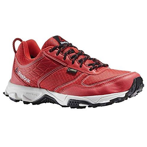 Reebok Franconia Ridge Ii Gtx, Zapatillas de Deporte Para Mujer Rojo / Negro / Blanco (Poppy Red / Neon Cherry / Black / Chalk)