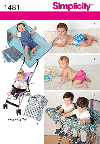 Pram Blanket Pattern Sewing - 1
