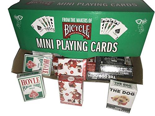 自転車Mini Holiday Decks with表示の合計36Decks featuring Hoyle、Coca - Santa And The Dog Holidayエディションの商品画像