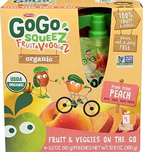 GoGo SqueeZ Fruit & VeggieZ Organic