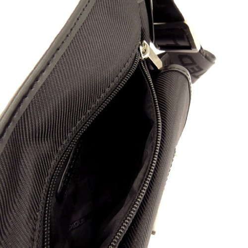 Bolso de hombro 'Ted Lapidus'negro.
