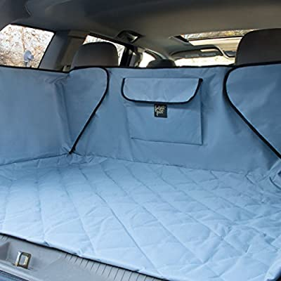 FrontPet Extended Width Quilted Dog Cargo Cover for SUV Universal Fit for Any Animal. Durable Liner Covers and Protects Your Vehicle