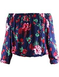 Ladies' Code Women's Plus Size Long Sleeve Floral Print...