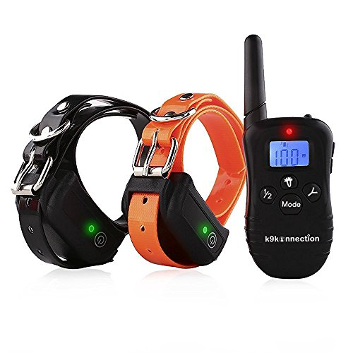 k9konnection-dog-training-collar-with-remote-100-waterproof-rechargeable-with-4-modes-vibration-shoc