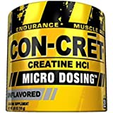 CON-CRET Creatine HCI Micro-Dosing Pre Workout Powder for Muscle Building, Endurance, and Recovery, 24 Servings, Unflavored For Sale