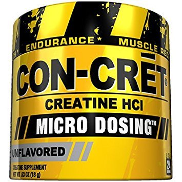 CON-CRET Creatine HCL, Unflavored, 24 Servings