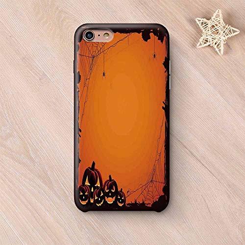 Halloween Decorations Elegant Compatible with iPhone Case,Grunge Spider Web Pumpkins Horror Time of Year Trick or Treat Compatible with iPhone 6/6s,iPhone 6 Plus / 6s Plus]()