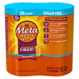 Metamucil Sugar Free, Orange Smooth – 53.2 oz Bottle (Pack of 2- 260 doses) Review