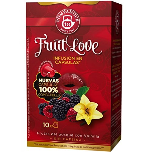 (POMPADOUR TEA (Nespresso Original line compatible) - Fruit Love - 40 count /)