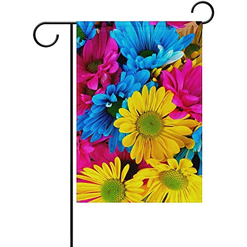 Johnnie Color Fondos De Pantalla Welcome Garden Flag 12 X 18 Inches, Double Sided Seasonal Outdoor Flag and Best for Party Yard Home Decor]()