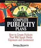 img - for Streetwise Complete Publicity Plans book / textbook / text book
