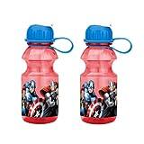 Zak! Designs Tritan Water Bottle with Flip-up Spout with...