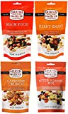 Creative Snacks Variety Pack 4 Flavours (3 Brain Food, 3 Heart Smart, 3 After School, 3 Campfire Crunch) 3.5 oz/12 bags …