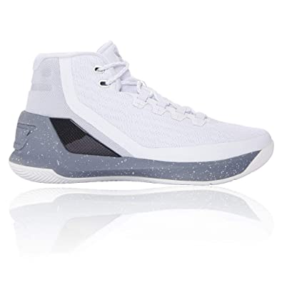 newest 58ae3 688f3 Under Armour Men s Curry 3 Basketball Shoes Grey