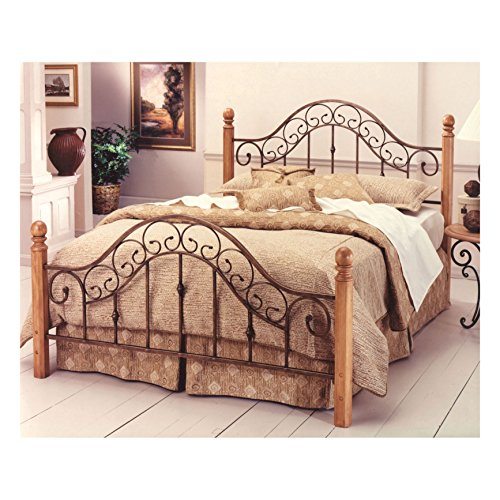 Hillsdale Furniture 310BQ San Marco Bed Set without Rails, Queen, Brown Copper