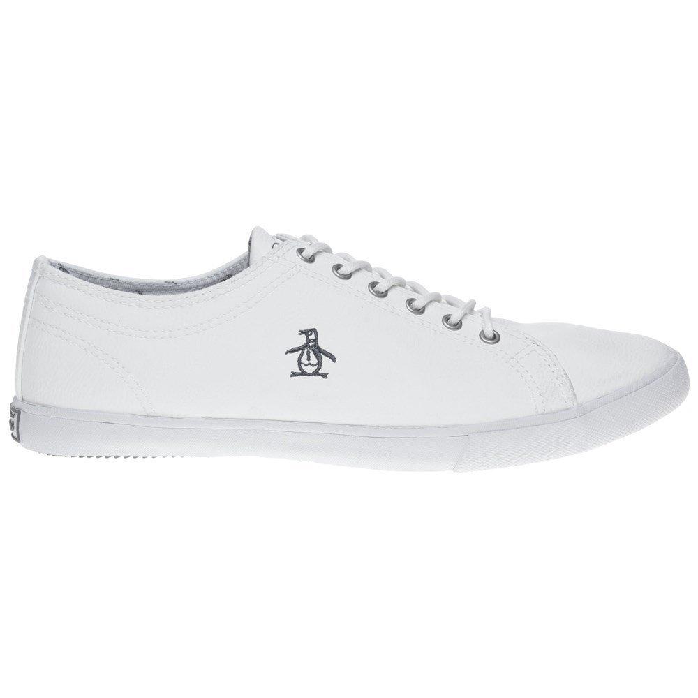 Penguin Brewton Mens Sneakers White