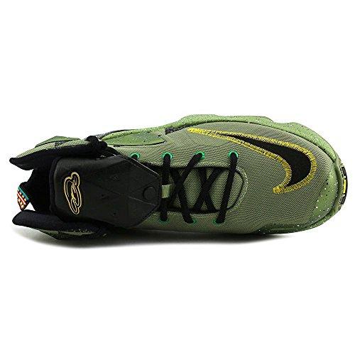 Nike Lebron Xiii As (Gs), Zapatillas de Baloncesto para Niños Negro / Verde (Alligator / Black-Lucky Green)