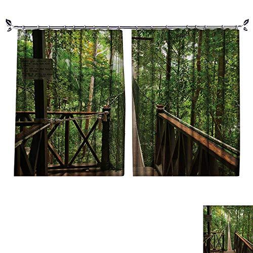 DESPKON Facial Blend Fabric high Density Canopy Walkway Taman Negara National Park Malaysia Shading for Bedroom W55 x L63