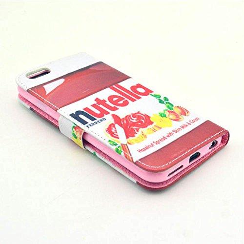 (05#) Painting Art Design Beutel PU Leder Stehen Flip Schutzhülle Hülle Tasche Schale Case Cover für Apple iPhone 6 Plus (5.5 Zoll)