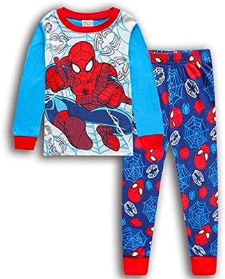 Boys Pajamas Spiderman Sleepwear Kids Snug Fit Pjs Child Long Sleeve Clothing Set Outfits