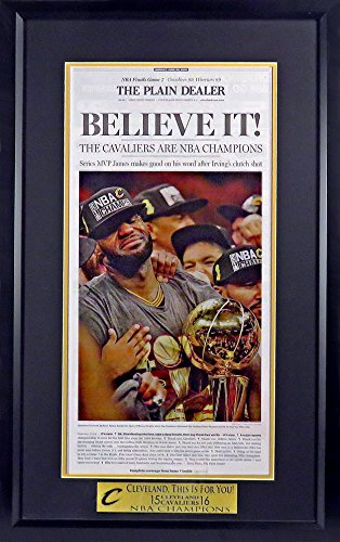 Cavaliers Wall Framed (Cleveland Cavaliers