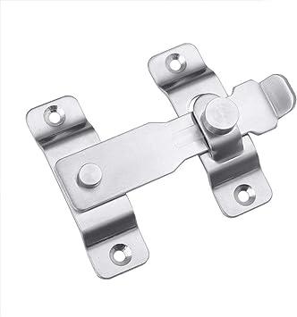 Tiberham - Cerrojo de seguridad para puerta corredera (110 x 85 cm ...