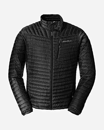 Eddie Bauer Men's MicroTherm StormDown Jacket, Black XL