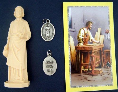 st joseph statue home seller selling kit saint house figurine and instruction ebay. Black Bedroom Furniture Sets. Home Design Ideas