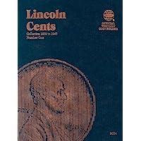 Lincoln Cents Folder #1, 1909-1940